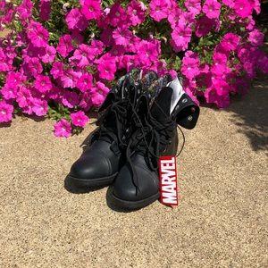 New Hot Topic Marvel Combat Boots